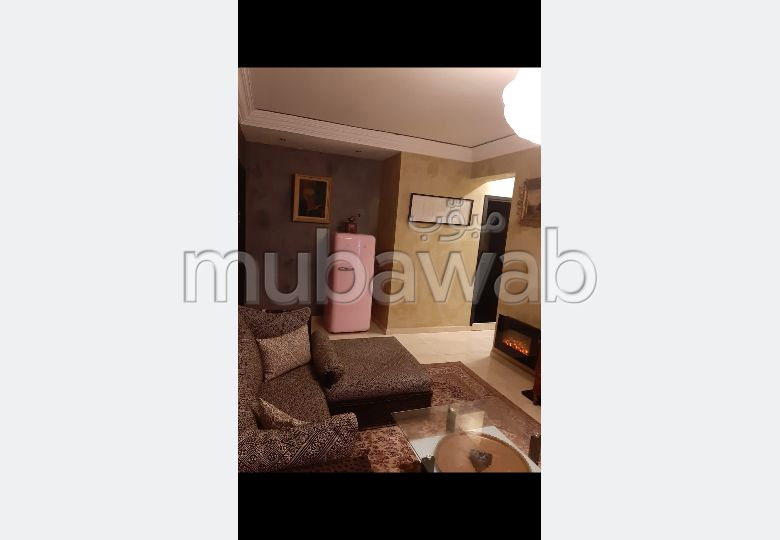 Rent an apartment in Hay Mabrouka. Area 62 m². Ample storage space.