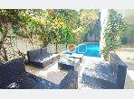 A louer une villa S3 avec piscine à Carthage