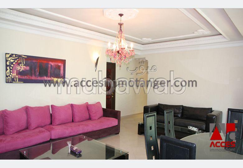 All spacieux appartement meuble avec terrass