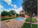Jolie maison de campagne à louer vide ou meublée 3ch avec beau jardin et piscine privative km 15
