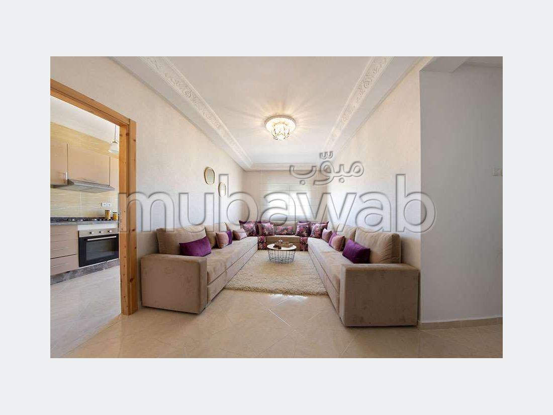 شقة رائعة للبيع ب طنجة البالية. 2 غرف.