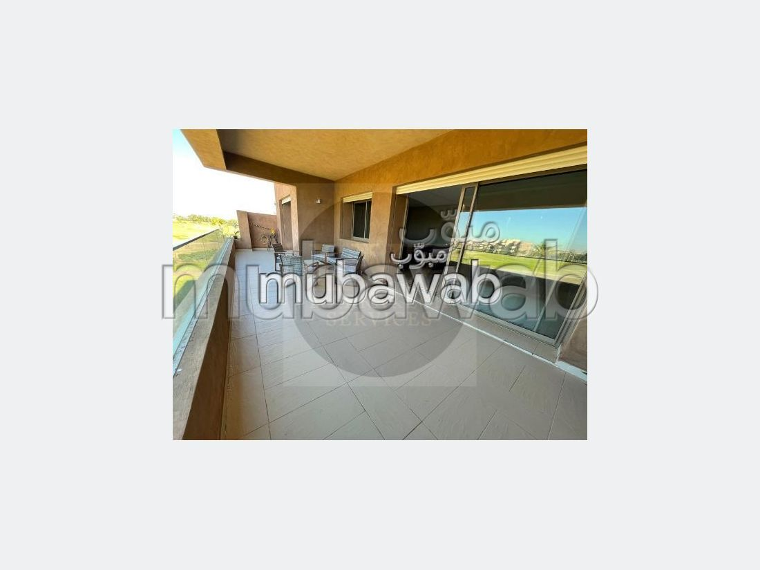 Apartment for rent in Agdal. 5 large living areas. Well decorated.