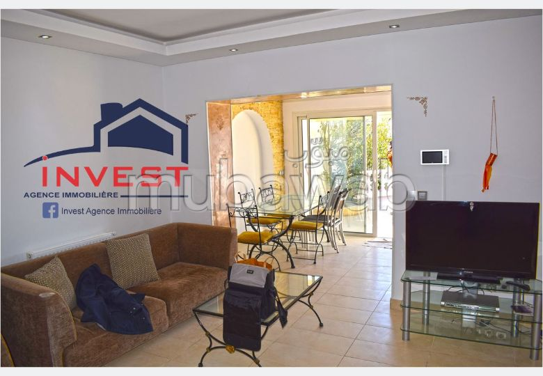 Lovely apartment for rent in Gammarth Supérieur. 2 Small room. Cellar.