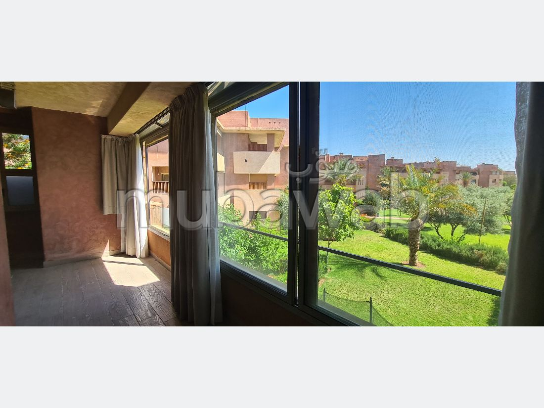 Very nice apartment for rent in Agdal. Area of 141 m². Garden and lift.