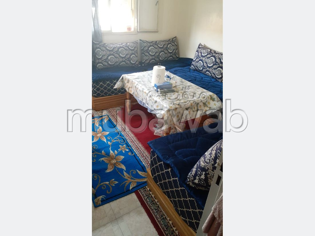 Beautiful apartment for sale in Sala el Jadida. Total area 63 m². ADSL and fibre.