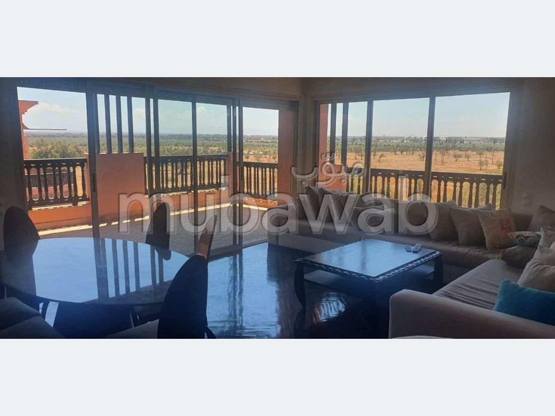 Flat for rent in Hivernage. Total area 174 m². New furniture.