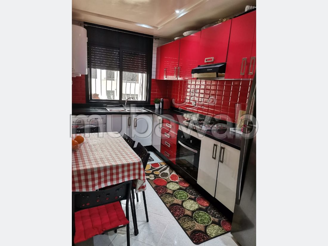 Apartment for sale in Hay Alqods. 2 Room. Traditional Moroccan living room, Secured neighbourhood.