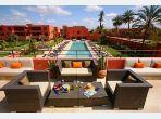 Bel Appartement meublé moderne 2ch grande terrasse et belle vue sur le jardin