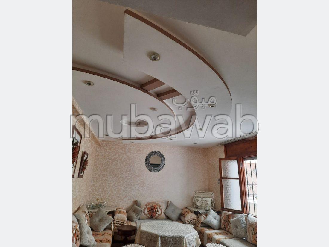 Beautiful apartment for sale in La Ville Haute. 4 Small room. Cellar, Large terrace.