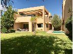 Une belle villa moderne Meublée avec piscine V6