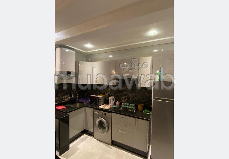 Bonito piso en alquiler en Tanger City Center. Gran superficie 54 m². Amueblado.