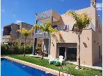 Villa luxueuse á vendre dans une résidence fermée