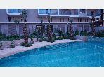 شقة رائعة للايجار بطريق الدارالبيضاء. المساحة 50 م². المرآب والشرفة.