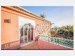 Rent an apartment in Ennakhil (Palmeraie). Surface area 165 m². Storage unit.