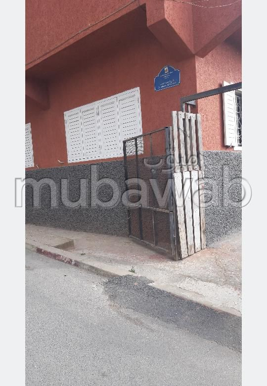 Apartment for sale in Hay Moulay Ismail. 2 Dormitory. Private garden.