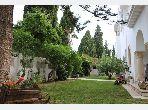 Villa à Carthage avec petite vue sur mer