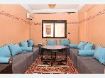 Rent this apartment in Majorelle. Surface area 75 m². Dressing room.