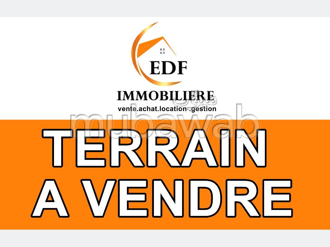 Land for sale in Cité Militaire. Surface area 392 m².