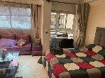 Magnífico piso en alquiler en Maârif. Superficie de 60 m². Bien amueblado.