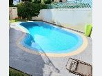 Villa piscine ain diab meuble