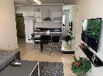 Precioso piso en alquiler en Centre Ville. 1 dormitorio. Servicio de conserjería y aire condicionado.