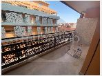Apartment for rent in Guéliz. 3 Common room. Furnished.