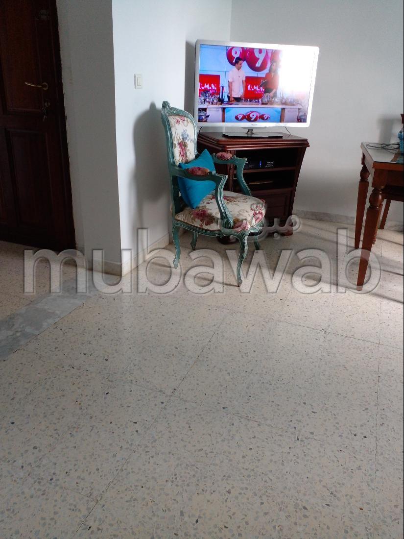 Appartement à vendre à Riadh al Andalous. 4 belles chambres. Vue exceptionnelle sur la montagne, chauffage central