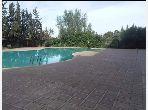 Vente be appartement 84 m² route de Fès ac piscine