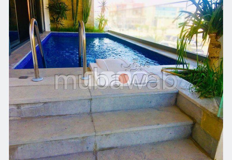 A louer S3 avec piscine au Lac 2