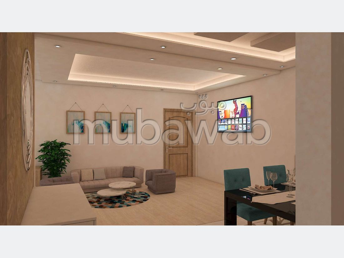 Sale of a lovely apartment in Guéliz. 2 Dormitory.