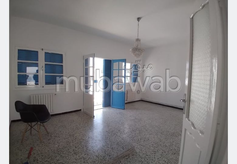 Apartment for rent in Sidi Bousaid. 2 Master bedroom. Double glazed window, Central air conditioning.