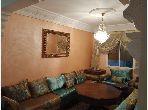 Bonito piso en venta en Abouab Sala. 1 dormitorio. Salón contemporáneo.
