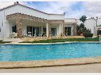 Villa avec piscine a la soukra