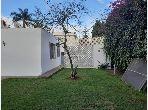 Somptueuse villa à louer plein pied à Longchamps Hay Al Hanâa. 3 chambres. Jardin et garage