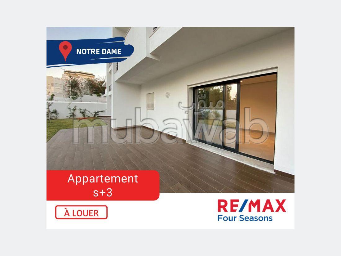 A Louer Appartement S3 Notre Dame