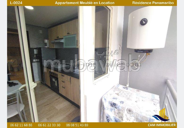 Appartement de standing meublé en location