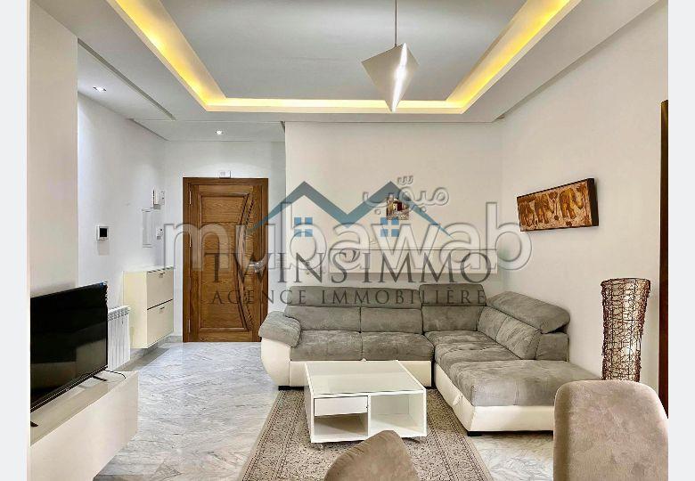 Appartement S1 meublé aux Jardins de Carthage