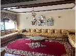 Sell apartment in Route Immouzer. Area of 240 m². Secured door, furnished Moroccan living room.