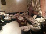 Villa de haut standing à vendre à Hay Dakhla. 5 chambres agréables. Système de parabole et salon marocain