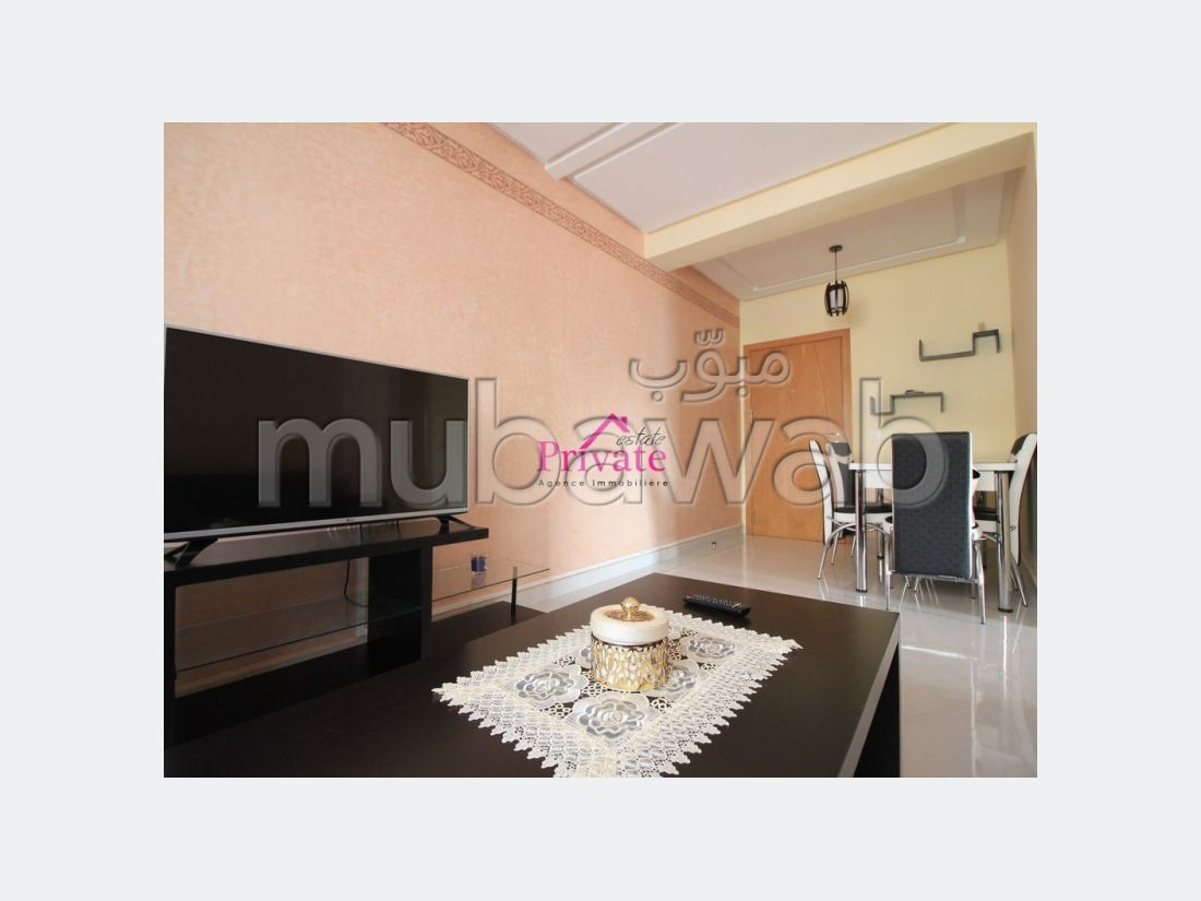 Location Appartement 62 m² QUARTIER WILAYA Tanger Ref: la589