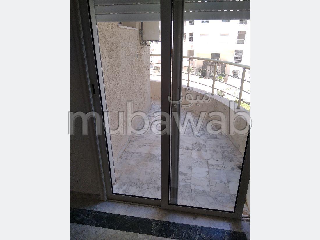 A louer un appartement S2 avec piscine haut standingà Ain Zaghouan Nord
