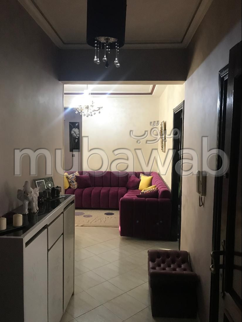 بيع شقة ب بورمانة. المساحة الإجمالية 113 م². موقف السيارات وشرفة.