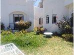 A Vendre une villa avec un grand jardin à Soukra