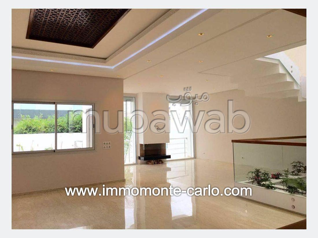 Villa neuve moderne avec piscine à Hay Riad Rabat