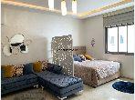Se alquila este piso en Quartier du Parc. 1 dormitorio. está amueblado con buen gusto.