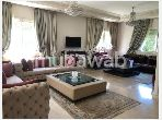 Fabulous villa for rent in Anfa. 4 beautiful rooms. Furnished.