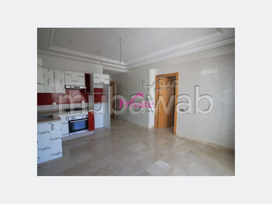 Apartment for sale. Total area 46 m². Enclosed residence.