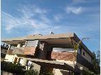 Splendide villa à vendre à Bouskoura. 4 chambres agréables. Porte blindée, sécurité
