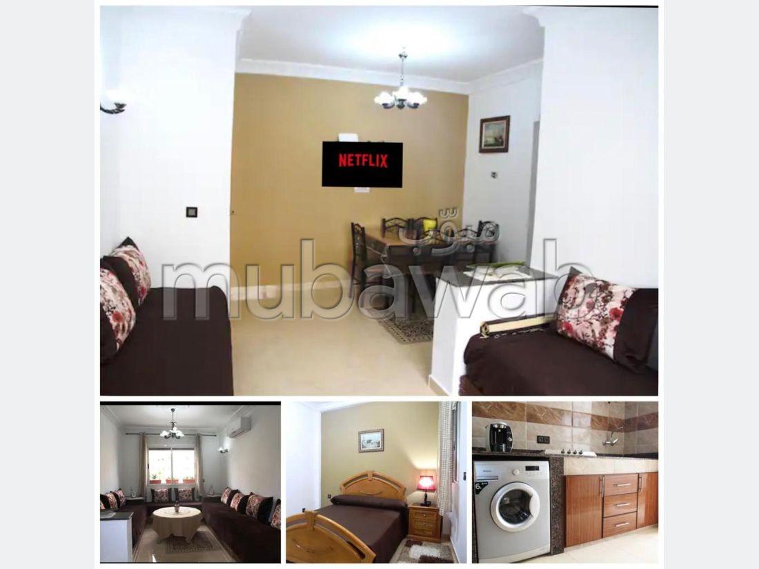 Location d'un appartement à Marjane. 2 belles chambres. Bien meublé
