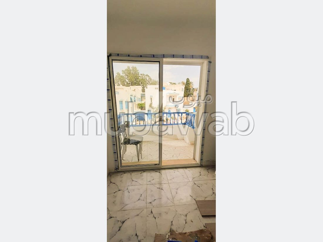 Find an apartment for rent in Sidi Bousaid. Large area 55 m².